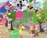 Игра Пони одевалки