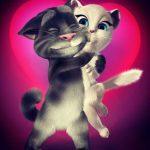Игра Кошка Анджела и Кот Том
