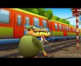 Игра Сабвей Серф бегать по поездам