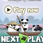 Игра 3 панды