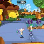 Игра Финис и Ферб: квадратный паззл