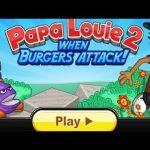 Игра Гамбургеры Папы Луи