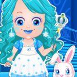 Игра Малышка Хейзел:  новогодняя мода