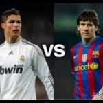 Игра Роналдо против Месси