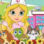 Игра Больница для животных
