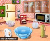 Игра Готовить еду кухня Сары