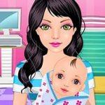 Игра Для девочек больница для беременных
