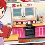 Игра Для девочек кухня Сары