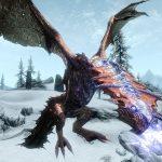 Игра Скайрим драконы