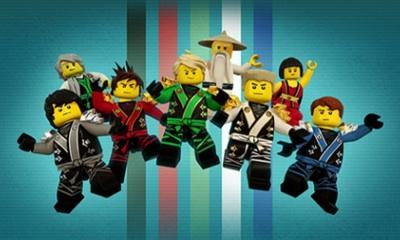 Игры Лего Ниндзя Го онлайн бесплатно