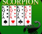 Игра Пасьянс скорпион