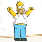 Игра Симпсоны пни Гомера