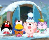 Игра Смешарики пин код Новый Год 2015