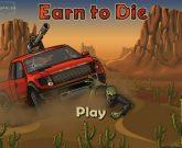Игра Давить зомби на машине