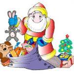 Игра Дед Мороз собирает подарки