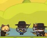 Игра Котята против лисят
