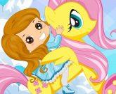 Игра Пони радуга