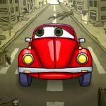 Игра Про детей машина ест машину