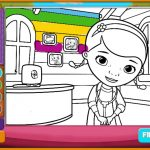 Игра Раскраска девочек