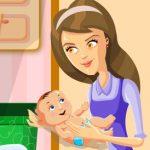 Игра Супер мама