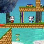 Игра Огонь и Вода панды