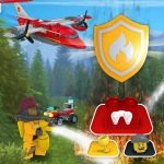 Игра Пожарные Лего