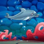 Игра Про дельфинов шоу