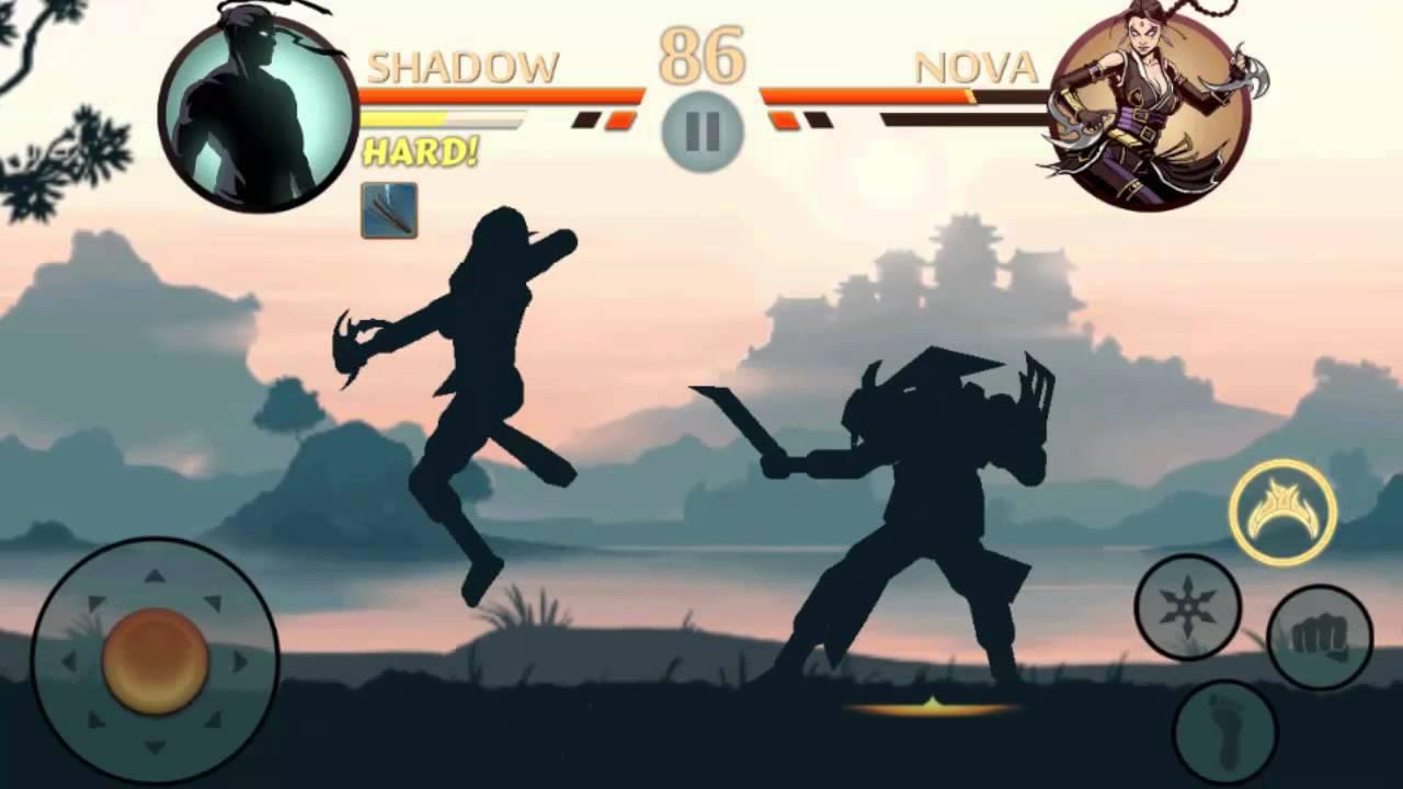 Игры Бой  со тенью