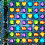 Игра Сокровища пиратов три в ряд
