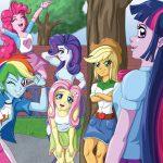 Игра Радужные девочки из эквестрии