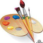 Игра Рисовать красками