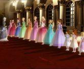 Игра Барби  и 12 принцесс