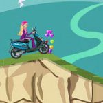 Игра Барби на мотоцикле 2014