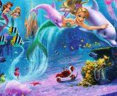 Игра Барби русалка 2