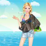 Игра Барби собирается на пляж