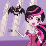 Игра Монстр Хай: макияж для Дракалауры