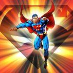 Игра Супермен: увернись от камней