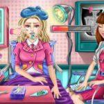 Игра У Барби простуда