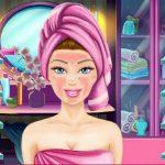 Игра Уход за личиком Барби