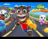 Игра Talking Tom Gold Run