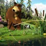 Игра Маша и Медведь рыбалка