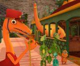 Игра Поезд динозавров