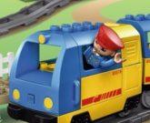 Игра Лего дупло железная дорога