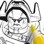 Игра Лего Нексо Найтс: Раскраска
