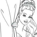 Игра Раскраски для девочек Барби