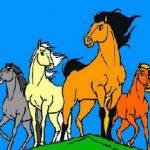 Игра Раскраски лошади