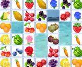 Игра  Маджонг фрукты и овощи