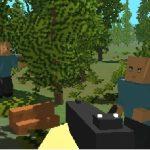 Игра Майнкрафт город зомби