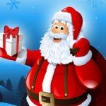 Игра Раскраска Дед Мороз