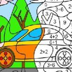 Игра Sandbox раскраски по номерам полная версия